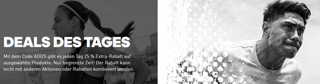 Bild zu adidas Tag 12: Deal des Tages mit 20% Extra Rabatt
