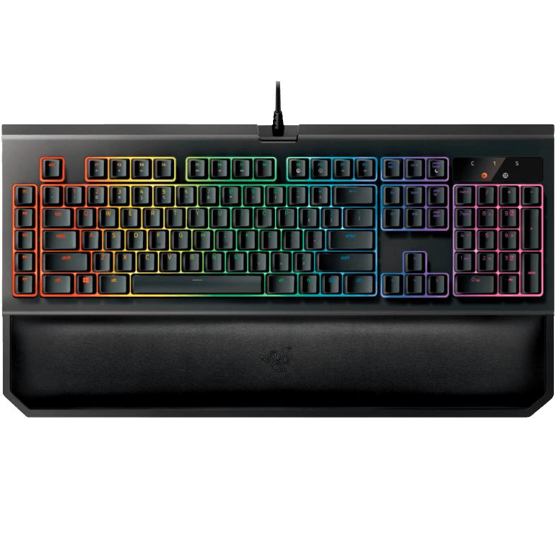 Bild zu Gaming Tastatur Razer BlackWidow Chroma V2 für 111€ (Vergleich: 140,64€)