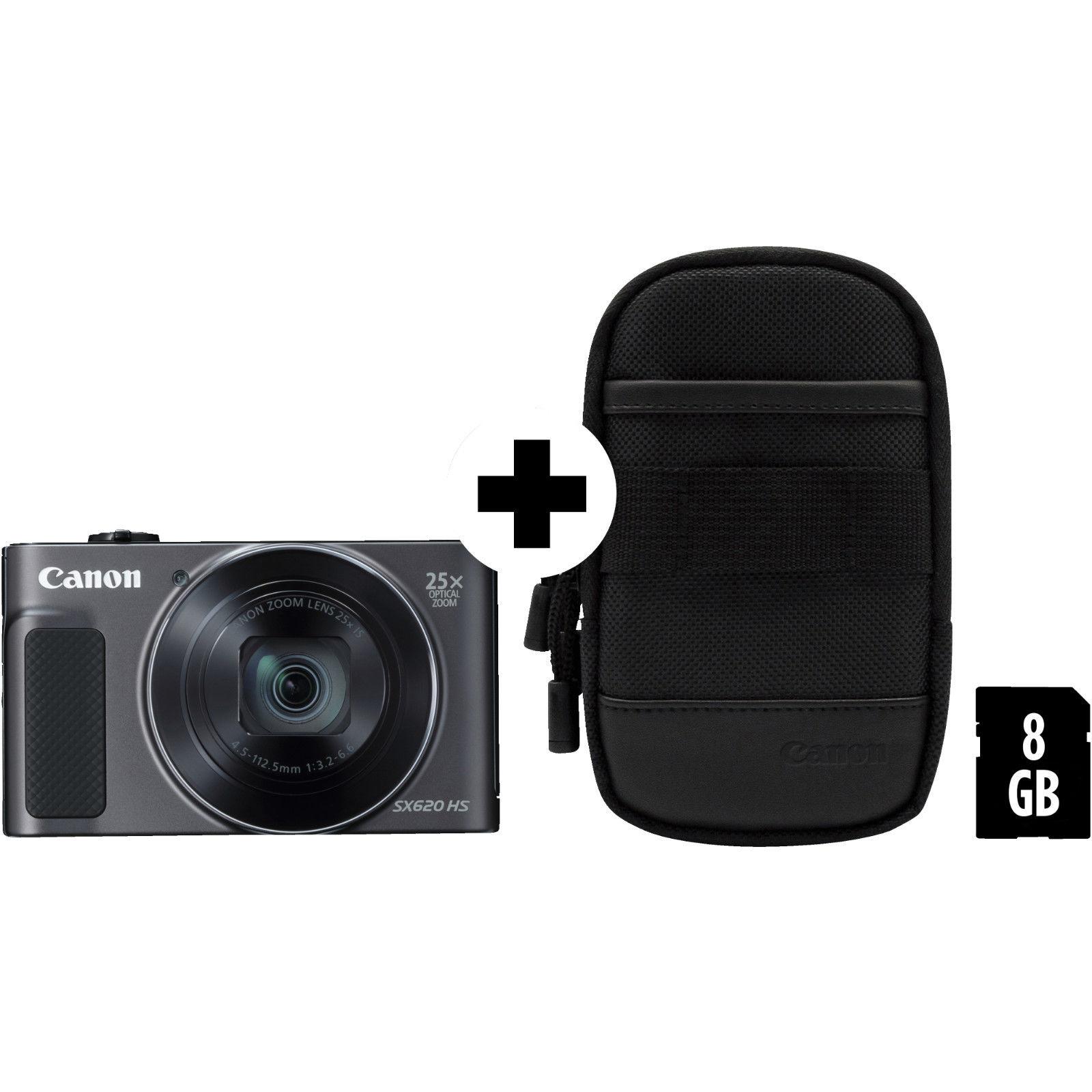 Bild zu Digitalkamera Canon Powershot SX620 als Kit mit Tasche und Speicherkarte für 133€ (Vergleich: 178,60€)