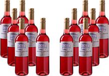 12er Paket Calle Principal - Tempranillo-Merlot Rosé - Vino de la Tierra Castilla