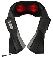 3D Shiatsu tiefgehendes Nacken Schulter Knetmassagegerät mit Wärme- und Vibrationstherapie
