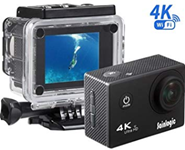 Action Cam, Sainlogic Unterwasser Kamera 4K,WIFI Amazon de Kamera