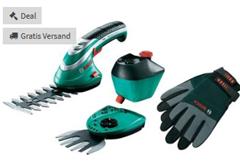 Bild zu Bosch Home and Garden Akku Grasschere, Strauchschere inkl. Akku 3.6V Li-Ion Isio Set XXL für 49,99€ inkl. Versand (Vergleich: 59€)
