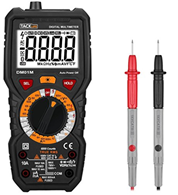 Digital Multimeter, Tacklife DM01M Advanced Multimeter mit 6000 Counts, True RMS, Temperaturmessung, [...]