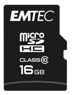 Bild zu Emtec microSDHC Speicherkarte Class 10 – 16GB für 6,66€ (Vergleich: 9,57€)
