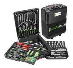 Bild zu Starkmann Blackline Werkzeugkoffer (399-teilig) ab 89,99€ (Vergleich: 134,85€)