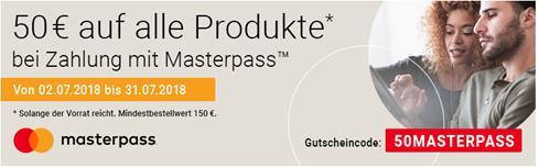 Bild zu Notebooksbilliger.de: 25€ Rabatt auf alles (ab 100€ MBW & mit MasterPass)