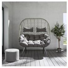 Bild zu XXL Relaxsessel Liana inkl. Auflage und Kissen ab 89€