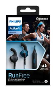 Bild zu Philips ActionFit SHQ6500BL Bluetooth In-Ear-Kopfhörer für 25,90€ (Vergleich: 34,99€)