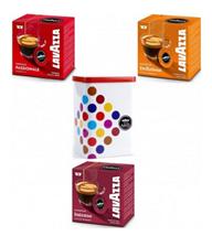 Bild zu Lavazza A Modo Mio Kapseln (6 Packungen/96 Kapseln) + Kapseldose für 24,95€