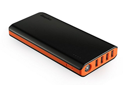 Bild zu EasyAcc 20000mAh Externer Akku PowerBank mit 4 USB Ausgängen (4A Eingang 4.8A Smart Ausgang) für 24,99€ (Vergleich: 32,99€)