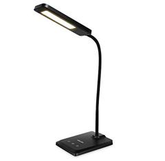 Bild zu Albrillo LED Schreibtischlampe mit USB Ladebuchse, dimmbar für 15,99€