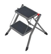 Bild zu Hailo Mini Stahl-Klapptritt mit 2 Stufen (belastbar bis 150 kg) für 19,99€ (Vergleich: 30,90€)