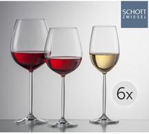 Bild zu Schott Zwiesel Weinglasset der Serie Diva (18-teilig) für 75,90€ (Vergleich: 117,43€)