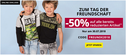 Bild zu Takko Fashion: Sale mit bis zu 50% Rabatt + 50% Extra Rabatt