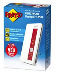 Bild zu FRITZ!WLAN Repeater 1750E für 53,99€ inklusive Versand