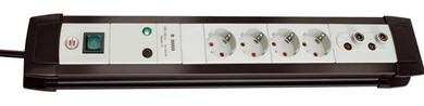 Bild zu Brennenstuhl Premium-Line Überspannungsschutz-Steckdosenleiste (TV+HiFi 30.000A) für 19,99€