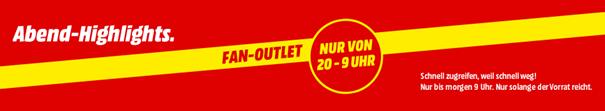 Outlet - Abend-Highlights
