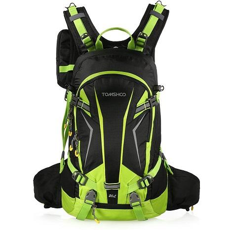 Bild zu TOMSHOO Outdoorrucksack mit Regenschutzhülle und 20 Liter Fassungsvermögen für 22,99€