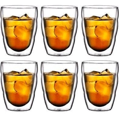 Bild zu 6er Pack Bodum Pilatus Doppelwand-Gläser für 30,90€ (Vergleich: 38,90€)