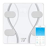 Digitale Personenwaage TaoTronics Körperfettwaage Gewichtswaage Körperwaage mit 12 essentiellen