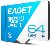 Bild zu EAGET T1 64GB Class 10 Micro SDHC Speicherkarte für 8,09€ inkl. Versand