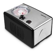 Eismaschine MD 18387, ca 150 Watt, Kapazität für 1,5 L Eis (Füllmenge 800 ml), selbstkühlend