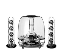 harman kardon SoundSticks III generalüberholte Transparente Lautsprecher eBay