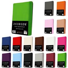 Bild zu Jacobson Jersey Spannbettlaken in 24 verschiedenen Farben ab 6,99€