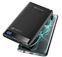 Bild zu CELLULAR LINE Freepower Manta 8000 Pro Powerbank 8000 mAh für 25€ (Vergleich: 49,98€)