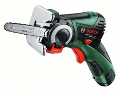 Bild zu BOSCH Bosch EasyCut 12 Akku-Mikrokettensäge für 89€ (Vergleich: 102,04€)