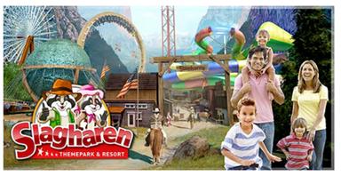 Bild zu Freizeitpark Slagharen Eintrittskarte (Niederlande) für 9,95€ anstatt 29€