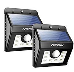 Bild zu [ab 11 Uhr] 2 x Mpow 8 LED Solar Leuchte (mit 3 Modi) für 11,99€