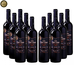Bild zu Gold prämierter Rotwein: 12er-Paket Viña Decana – Reserva – Utiel Requena DO für 45€ inklusive Versand