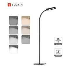 Bild zu TECKIN Lese-/ Stehlampe (3 Farbtemperaturen, 4 Helligkeitsstufen) für 25,99€