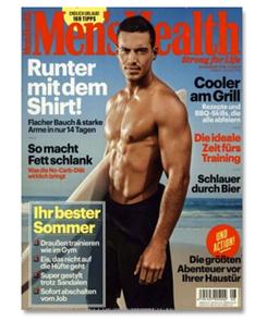 """Bild zu Jahresabo (10 Ausgaben) """"Men´s Health"""" für 54€ + 50€ BestChoice Gutschein"""