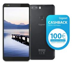 Bild zu Gigaset GS370 Jet Black Smartphone (32GB, Dual-SIM, 3GB RAM) für 169,90€ + 100€ Cashback (Vergleich: 192,90€)