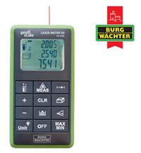 Bild zu Burg Wächter Lasermessgerät Laser Meter 50 PS 7550 für 55,90€ (Vergleich: 81,77€)