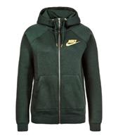 Bild zu NIKE Damen Hoodie RALLY FZ METALLIC (outdoor green) für 22,49€ (Vergleich: 69,90€)