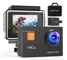 Bild zu APEMAN Action Kamera Wifi 4K (20MP, Ultra Full HD) für 68,79€