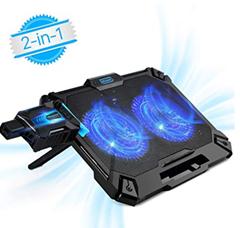 Bild zu Laptop Kühler 17,3 Zoll für 19,19€ inklusive Versand