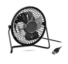 Bild zu Metall Tisch-Ventilator (USB) für 0€ + zwei weitere Artikel gratis zzgl. max. 5,97€ Versand
