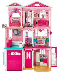 Bild zu Barbie 3-stöckige Traumvilla für 99,98€ (Vergleich: 193,99€)