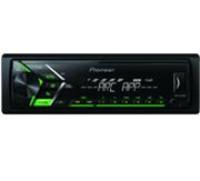 PIONEER MVH-S100UBG, Autoradio, 1 DIN, Ausgangsleistung Kanal 50 Watt