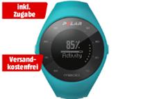 Bild zu POLAR M 200 BLUE M/L GPS-Laufuhr (150-210 mm, Blau) + Wechselarmband für 69€ inkl. Versand (Vergleich: 101€)