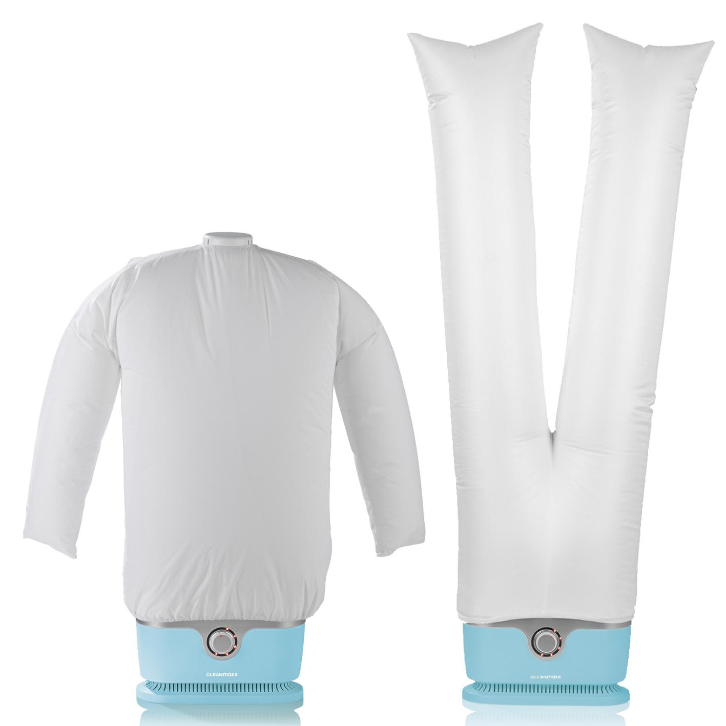 Bild zu CLEANmaxx Hemdenbügler und Hosenaufsatz für 69,99€ (Vergleich: 78,74€)