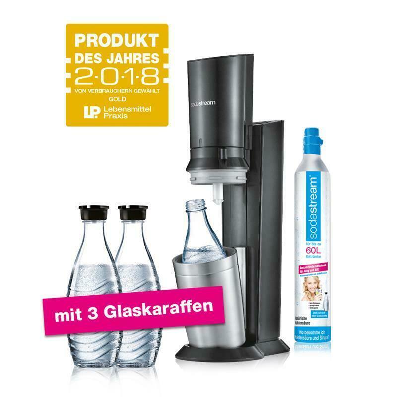 Bild zu SodaStream Crystal 2.0 Wassersprudler für 99,95€ (Vergleich: 114,22€)