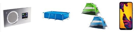 Bild zu Die restlichen eBay WOW Angebote, z.B. Pop UP QEEDO Quick Bay Xl Strandzelt für 49,99€ (Vergleich: 69,90€)