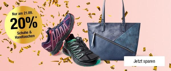 Bild zu Galeria Kaufhof: 20% Rabatt auf viele Damenschuhe, Herrenschuhe und Handtaschen
