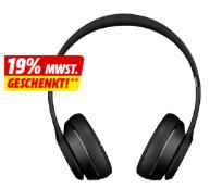 BEATS Solo 3 Wireless, On-ear Kopfhörer, Schwarz